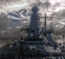 HDR  HMS Dauntless by Andrew Pounder