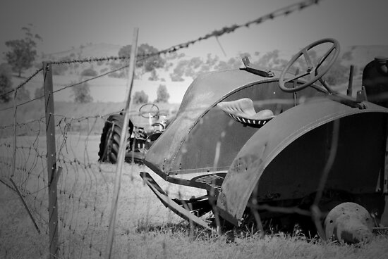 Broken down tractor by unstoppable