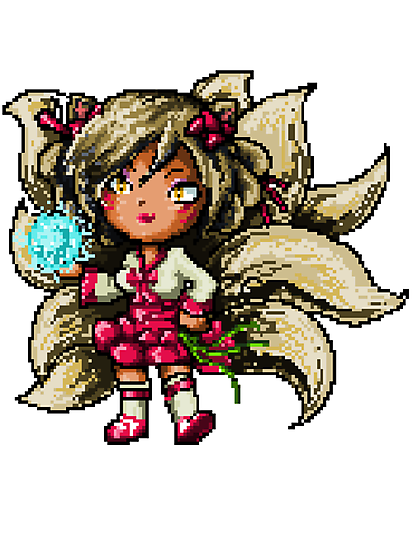 Pixel Dynasty Ahri by Pixel-League
