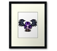 Morgana, The Fallen Pixel Framed Print