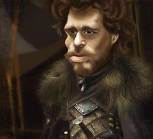 Robb Stark by JenSnow
