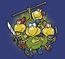 ninja koopas by Bleee