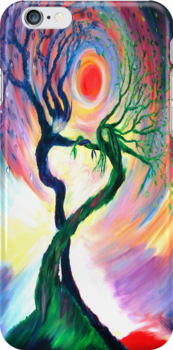 Dancing Tree Spirits by anniebart
