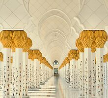 Tranquility of the Colonnade by Ian Mitchell
