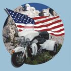 Patriotic Trike by flyoff