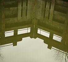 Through the glass mirror by shortarcasart