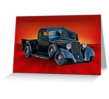 1934 Dodge Pick-Up Truck Greeting Card