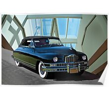 1948 Packard Custom 8 Convertible Poster
