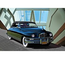 1948 Packard Custom 8 Convertible Photographic Print