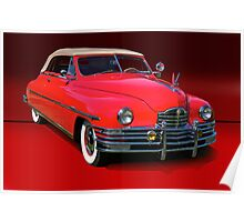 1948 Packard Super 8 Victoria Convertible Poster