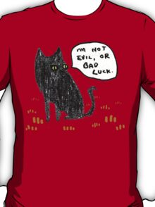 Black Cats Aren't Evil T-Shirt