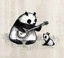 Banjo Panda by Sophie Corrigan