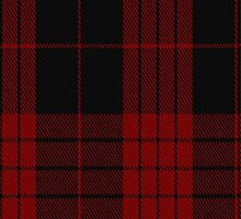 00562 Cameron Red & Black Dress Clan Tartan Fabric Print Iphone Case by Detnecs2013