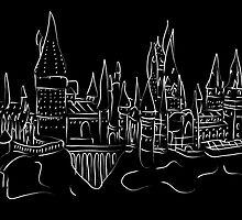 Hogwarts Castle by Jessica Slater