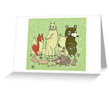 Bramble Wood Gang Greeting Card