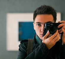 Me, Leica M9-P and Elmarit-M 90mm by jipvankuijk