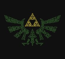 Legend of Zelda Celtic Triforce St. Patricks Day by MrP1ckles