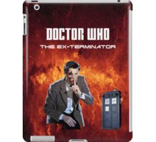 DR WHO - The Ex Terminator iPad Case/Skin