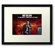 DR WHO - The Ex Terminator Framed Print