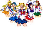 Sailor Scouts by Monoclebunny