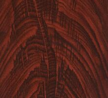 Mahogany Wood Grain Pattern by RedPine