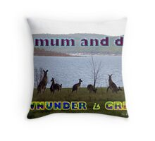 Downunder is Great Throw Pillow