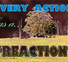 Every action has a REACTION by Jon de Graaff