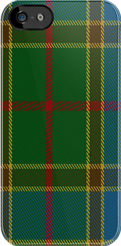 00629 Balfour Hunting Tartan Fabric Print Iphone Case by Detnecs2013