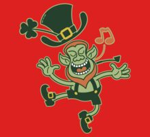 Irish Leprechaun Dancing and Singing Kids Clothes
