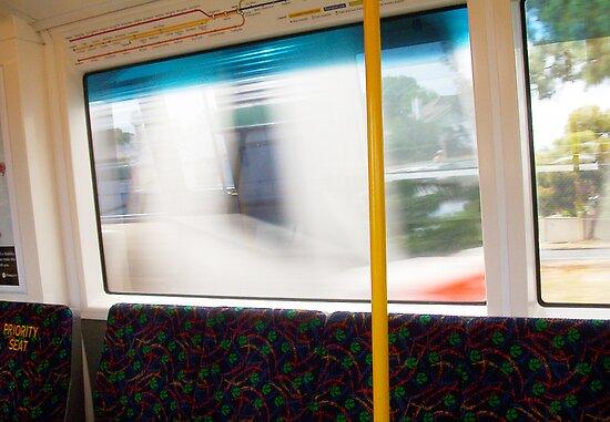 Train 04 03 13 Nine by Robert Phillips