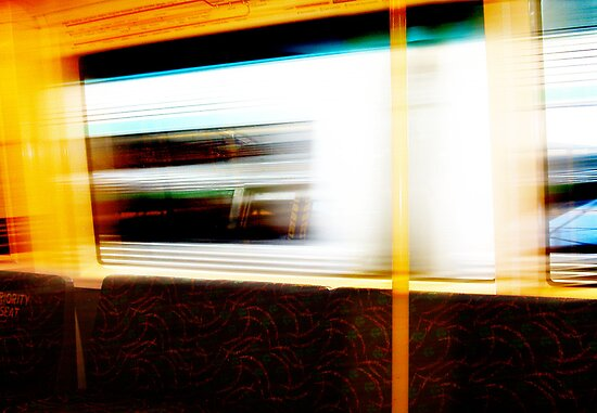 Train 04 03 13 Eight by Robert Phillips