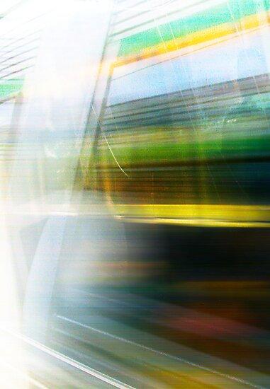 Train 04 03 13 Three by Robert Phillips