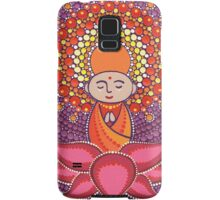 Jizo Meditating upon a Ruby Lotus Samsung Galaxy Case/Skin