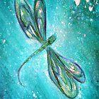 Sacred Dragonfly by annie b. by anniebart