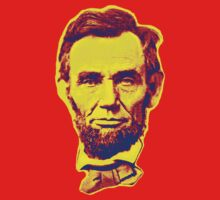 Bright Face Abraham Lincoln  by adrienne75