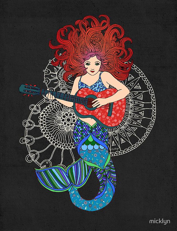 Musical Mermaid by micklyn