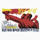 North Korean Propaganda - The Torch by Tim Topping