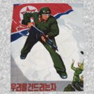 North Korean Propaganda - Bayonet by Tim Topping