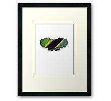 Tanzania! Framed Print