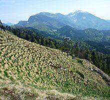 Mountains Golica by Marina Kropec