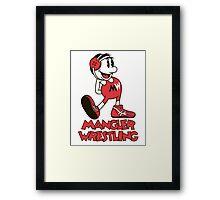 Mangler Willie Framed Print