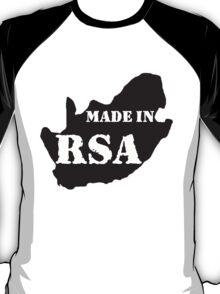 BORN IN THE RSA T-Shirt