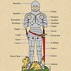 Plate Armour Circa 1430 by Richard Fay
