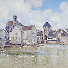 Le Pont de Moret, 1888 by Bridgeman Art Library