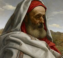 Eliezer of Damascus, 1860  by Bridgeman Art Library