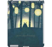 Totoro ' s Dream iPad Case/Skin
