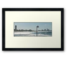 View of Surfers Paradise Framed Print