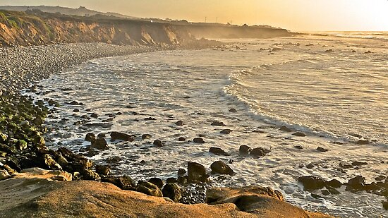 Pescadero Beach, California by Scott Johnson