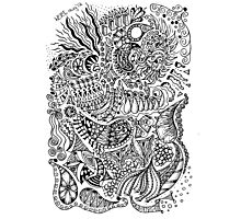 Diary doodle Photographic Print