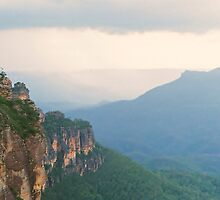 Katoomba before the storm by tryke86